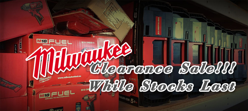 Milwaukee Tools Clearance Sales