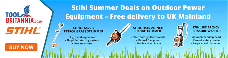 Stihl Summer Deals on Outdoor Power Equipment