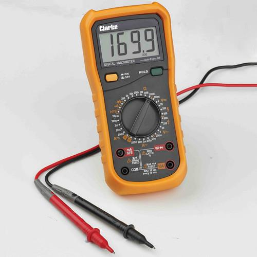 Clarke Cdm35c 8 Function Digital Multimeter