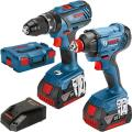 Bosch Gsb18v-28 + Gdx18v-180 Twin Kit