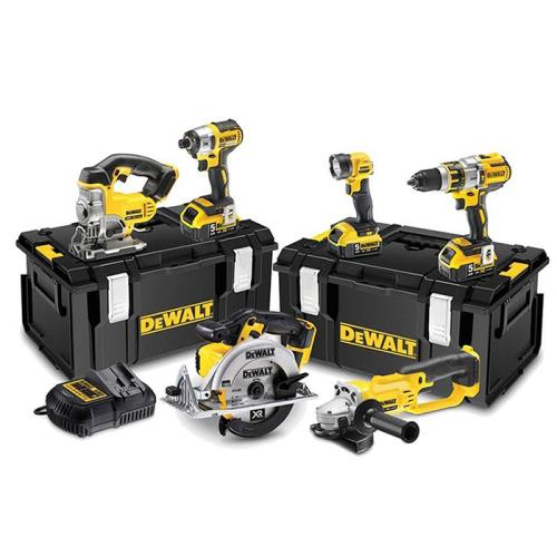 Dewalt Dck694p3 18v 6pak(2 Cases)brushless