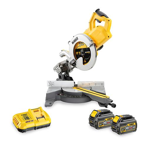 Dewalt Dcs778t2-gb 54v Mitre Saw
