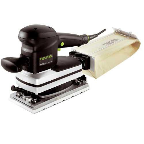 Festool Rs 100 Q-plus Gb 240v Orbital Sander