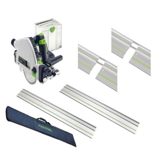 Festool Ts55r Ebq Plus  Plunge Saw Set 240v