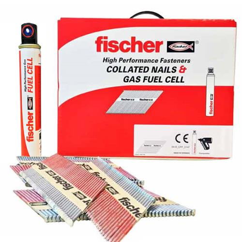 Fischer 534714 1st Fix Nail 2.8x63 Ring Steel