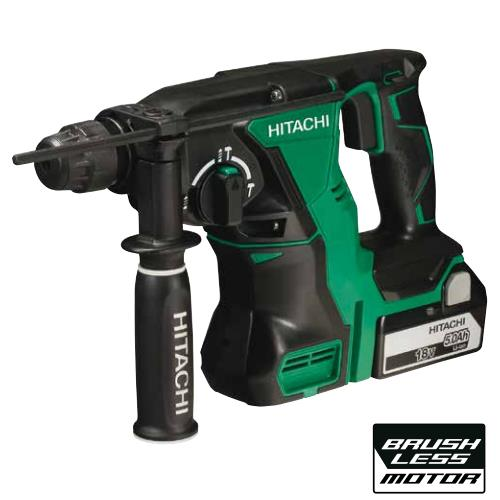 Hitachi Dh18dbl/jp 18v Brushless Sds + Hammer