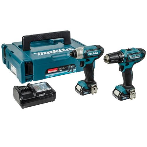 Makita Clx201aj 2pc Li-ion 10.8v Kit