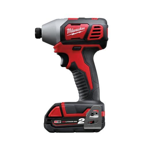 Home Cordless Tools Cordless Impact Driver Milwaukee M18bid-202c 18v