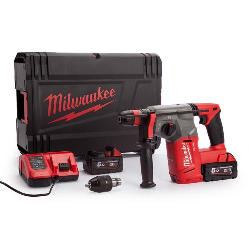 Milwaukee M18chx-502x 18v Fuel Sds Drill