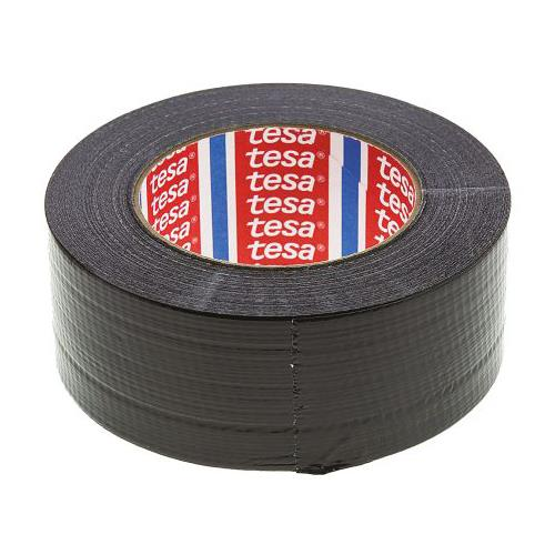 Rs Pro Pe Coated Black Duct Tape, 50m X 48mm