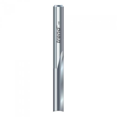 Trend S3/22x1/4stc Two Flute Cutter 6.3mm Dia