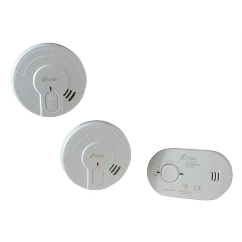 Twin Smoke & Carbon Monoxide Alarm Set
