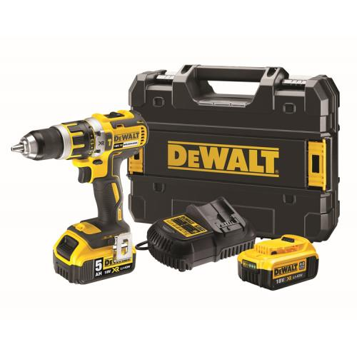 18v 2 Speed Combi Drill With 2 Li-ion Batts
