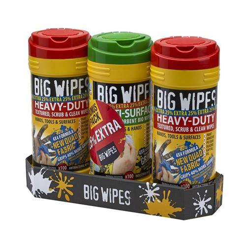 Big Wipes Wipes Triple Pack With 25% Free