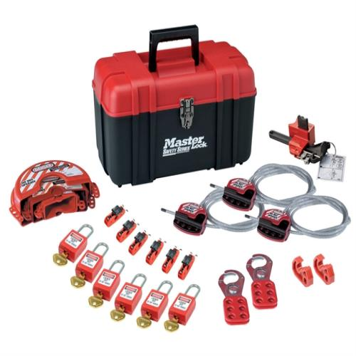Master Lock Valve&electrical Lockout Toolbox