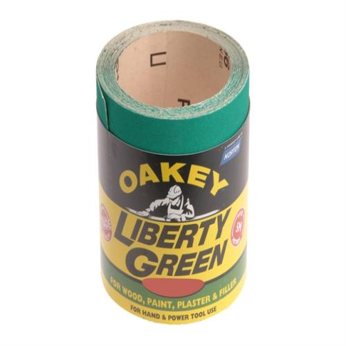 Oakey Liberty Green Roll 10m X 115mm 120g