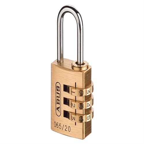 Abus 165 20mm Combi Padlock (3-digit) Carded