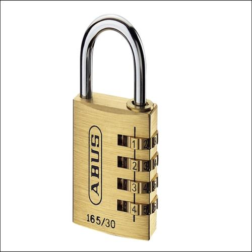 Abus 165 30mm Combi Padlock (3-digit) Carded