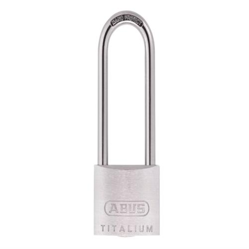 Abus 64ti 50mm Titalium Padlock 80mm Long Car