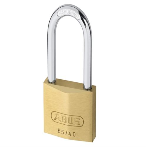 Abus 65 40mm Brass Padlock 40mm Long Caeded