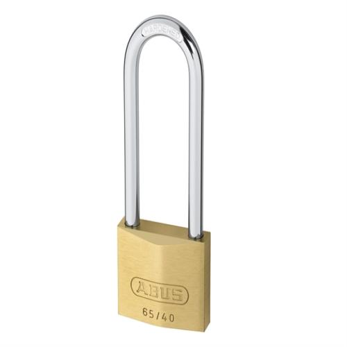 Abus 65 40mm Brass Padlock 60mm Long Caeded
