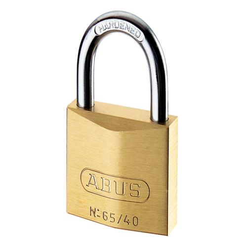 Abus 65 50mm Brass Padlock Master Keyed Mk655