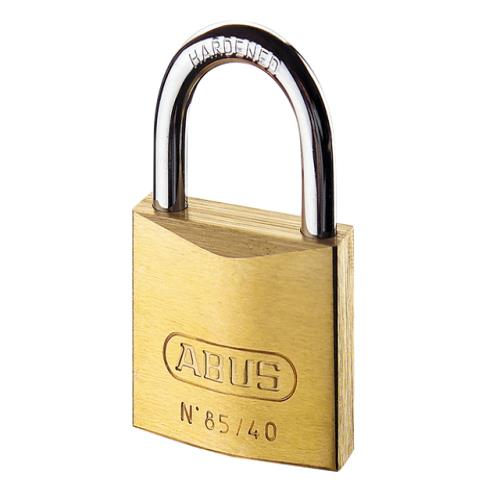 Abus 85 60mm Brass Padlock Carded