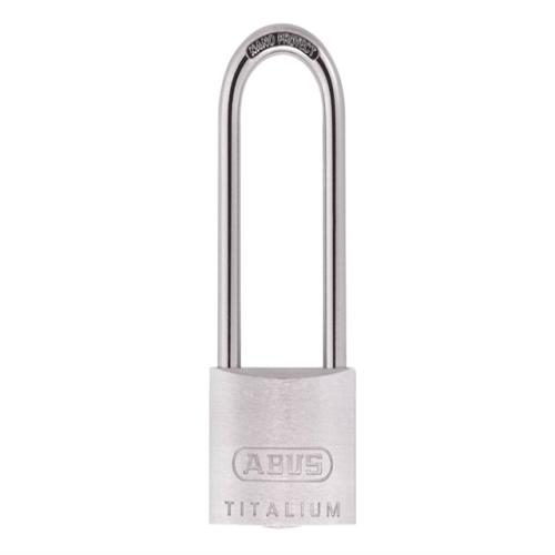 Abus 80ti 40mm Titalium Padlock Long 63mm Car