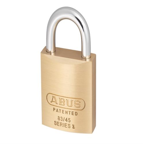 Abus 83 45mm Brass Body Padlock Carded