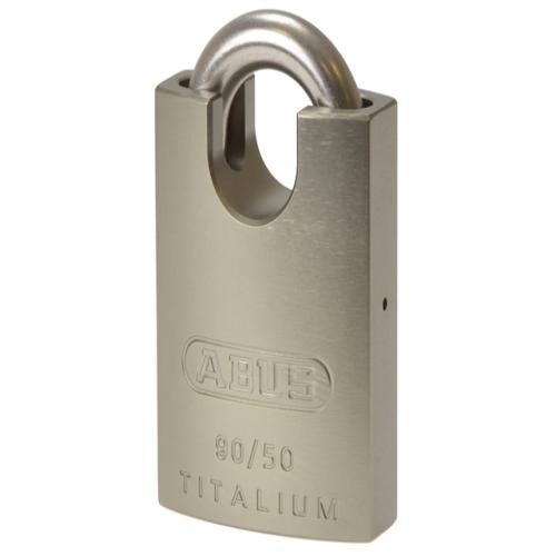 Abus 90rk Titalium Padlock Close Shackle Card