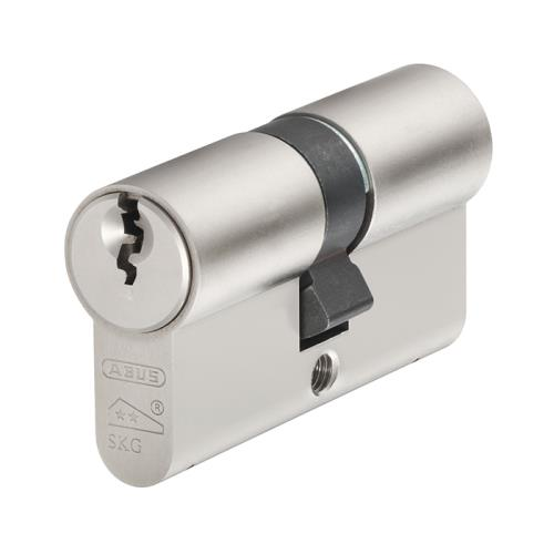 Abus E60np Double Tube Nickel Pearl 40mm/50mm