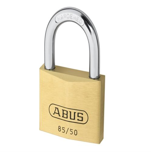 Abus 85/50 50mm Brass Padlock Keyed 2747