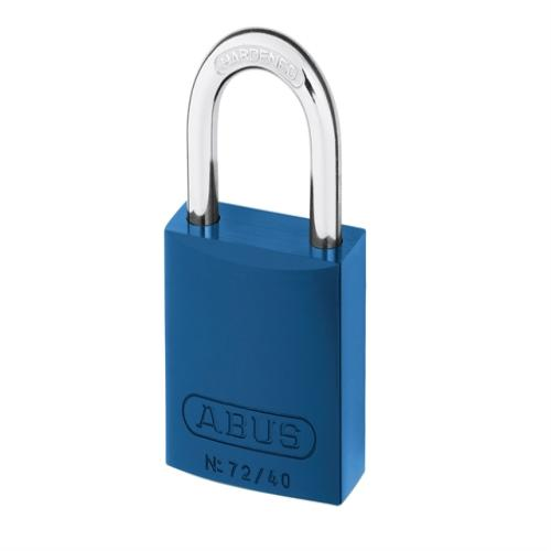 Abus 72 40mm Alu Padlock Blue Keyed Tt60121