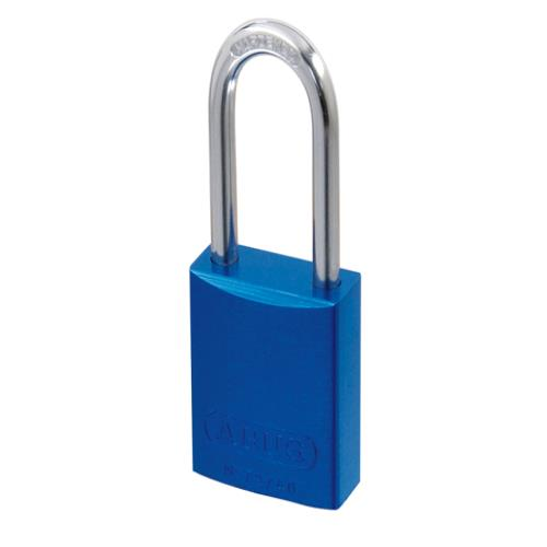 Abus 72 40mm Alu Padlock Blue Keyed Long