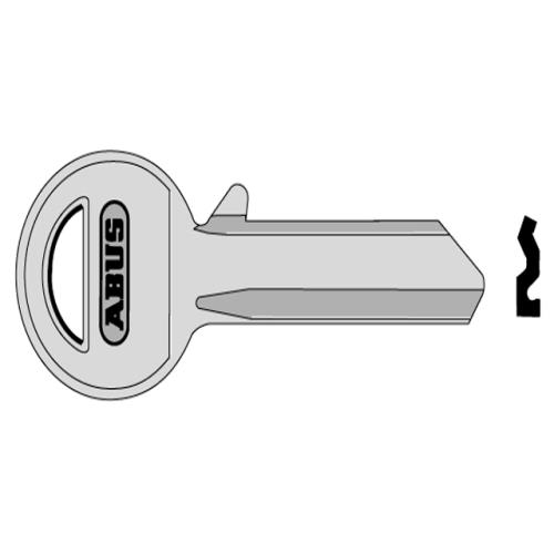 Abus 85/30 30mm Right Hand Key Blank