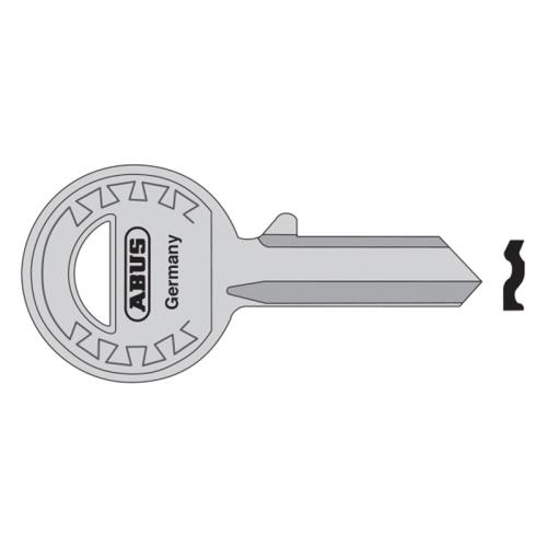 Abus 24-41-885 Right Hand 4 Pin Key Blank
