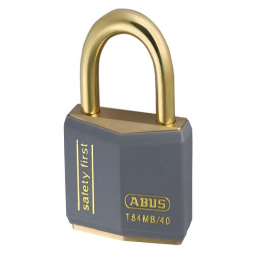 Abus T84mb 40mm Rustproof Padlock Grey
