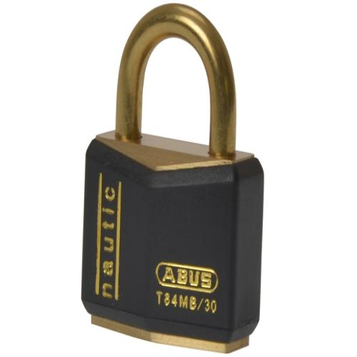 Abus T84mb 30mm Rustproof Padlock Carded