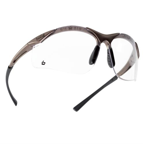 Bollé Safety Contour Safety Glasses Clear