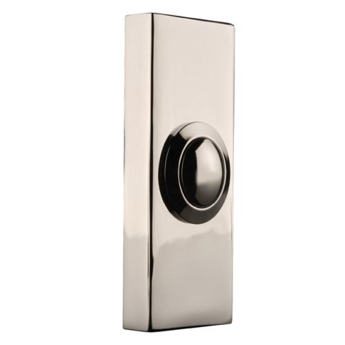 Byron 2204bc Wired Bell Push Chrome