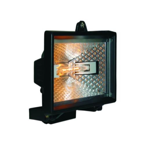 Byron Hl400 Halogen Floodlight Black 400w