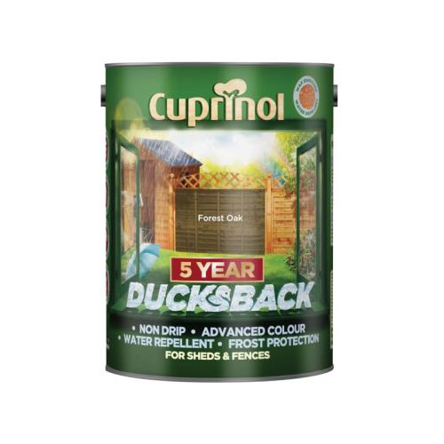 Cuprinol Ducksback 5 Year Waterproof For Shed