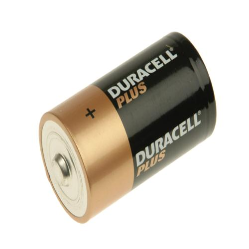 Duracell D Cell Alkaline Batteries Pack Of 2
