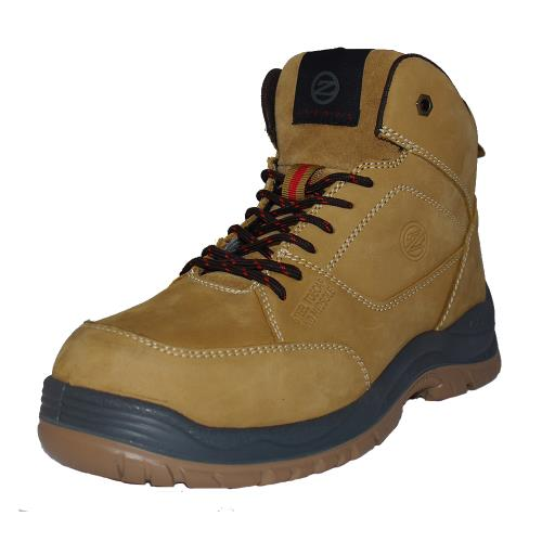 Zephyr Zx73 Honey Nubuck Safety Boot