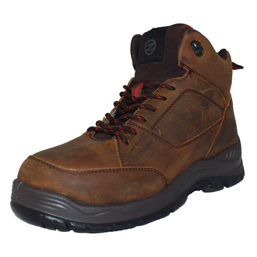 Zephyr Zx74 Brown Nubuck Safety Boot