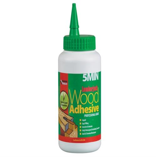 Everbuild 5min Polyure Wood Adhesive Liquid