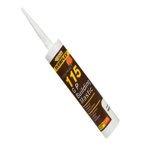 Everbuild 115 Building Mastic Brown 305ml