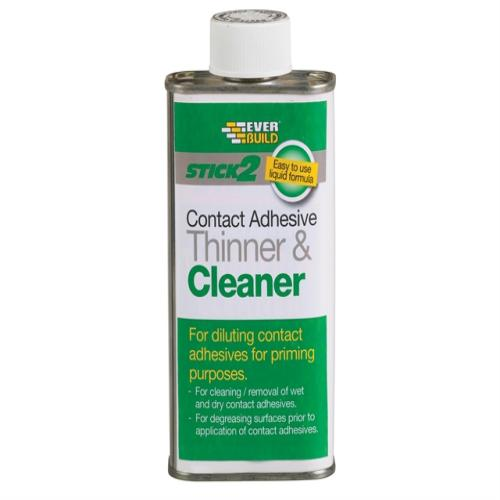Everbuild Adhesive Thinner & Cleaner 250ml