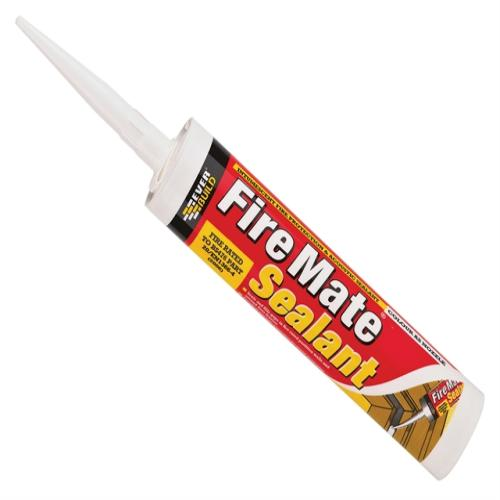 Everbuild Fire Mate Intumescent Sealant White