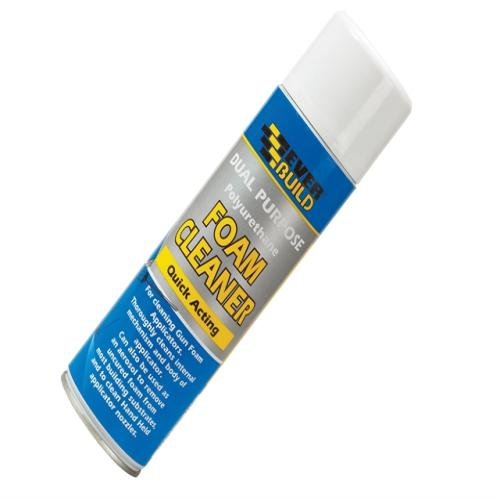 Everbuild Dual Purpose Foam Cleaner 500ml Gfs